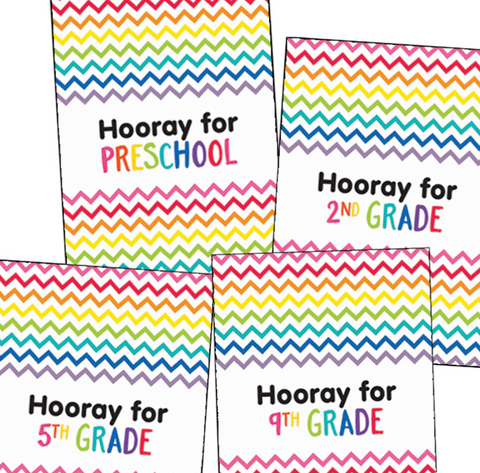 Just Teach - Hooray! Posters {U PRINT}