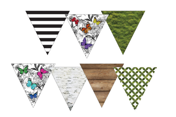 Woodland Whimsy Point Banners