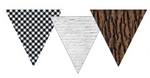 Schoolgirl Style - Woodland Whimsy Point Banners {UPRINT}