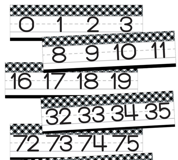 Woodland Whimsy Number Line