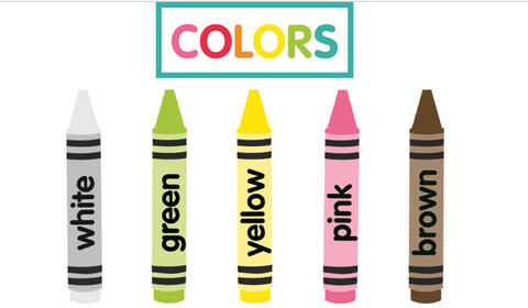 Just Teach - Crayon Colors