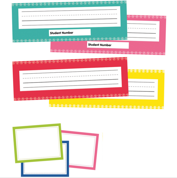 Just Teach - Name Tags and Nameplates {U PRINT}