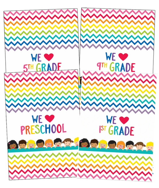 Just Teach - We HEART Posters {U PRINT}