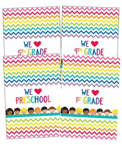 Just Teach - We HEART Posters