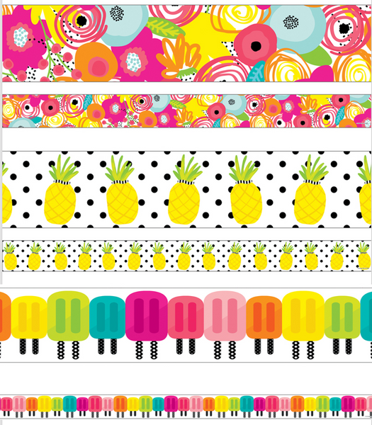Simply Stylish Tropical Border Set {U PRINT}