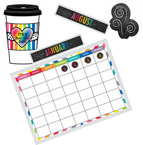 Bright and Brew-tiful Calendar Set