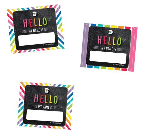 Bright and Brew-tiful Name Tags {U PRINT}