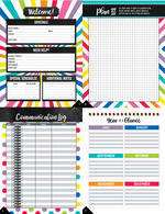 Schoolgirl Style - Bright and Brew-tiful - PLANNER and ORGANIZER {UPRINT}