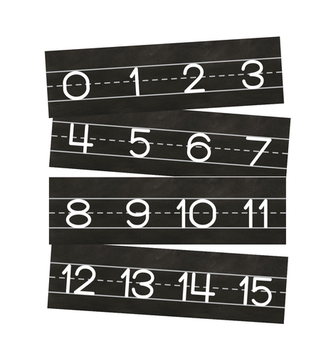Industrial Chic Number Line 0-120 {U PRINT}