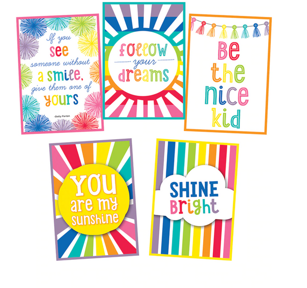 Hello Sunshine Rainbow Posters