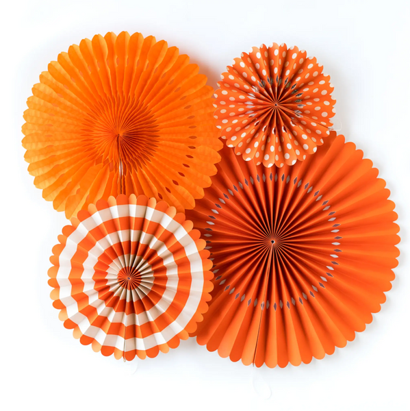 {Orange Crush} PREMIUM Fancy Fans