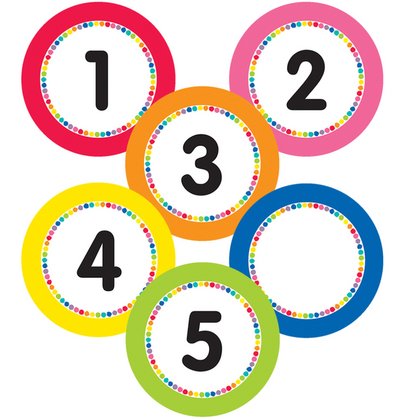 Just Teach Magnetic Number Cutouts