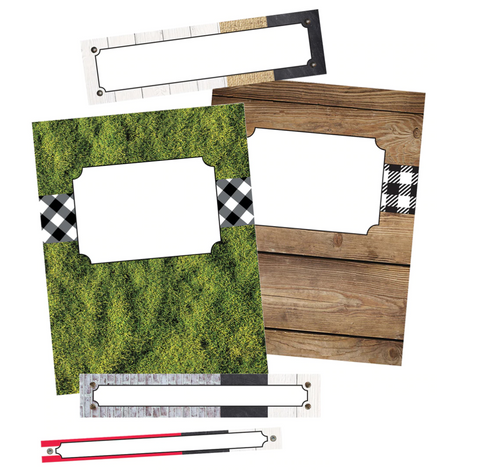 Woodland Whimsy Binder Covers & Spines {UPRINT}