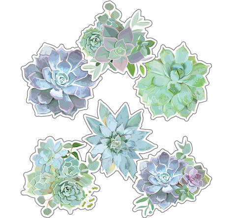 Simply Stylish Succulent Cutouts