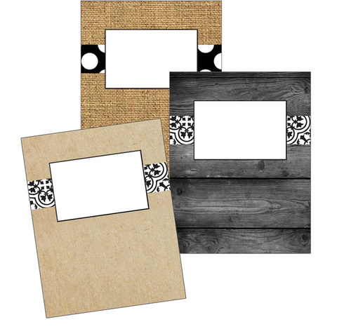 Simply Stylish Binder Covers {UPRINT}