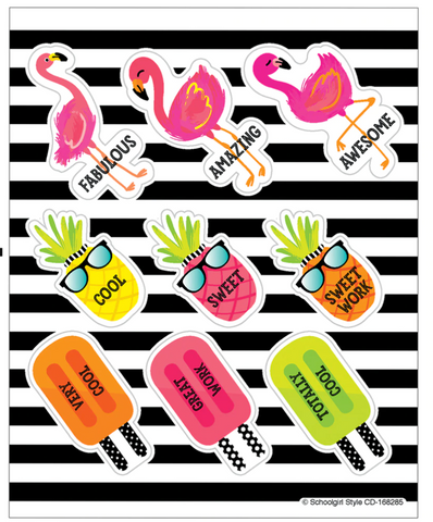 Tropical Motivators Motivational Stickers