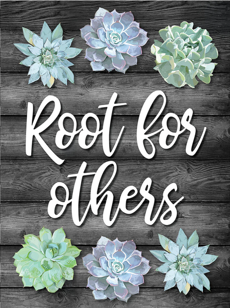 Simply Stylish {Root for Others} Poster