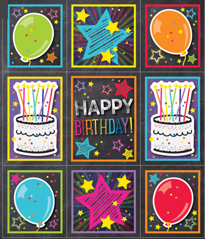 Twinkle Twinkle You're A STAR! Birthday Prize Pack Stickers