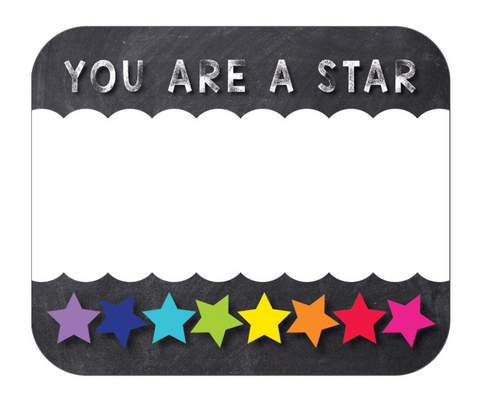 Twinkle Twinkle {You are a Star} Name Tags