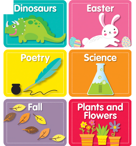 Library Labels Mini Cut-Outs Grade PK-2
