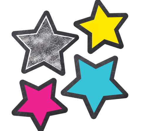 Twinkle Twinkle, You're a Star -  Stars Extra Large Cut-Outs
