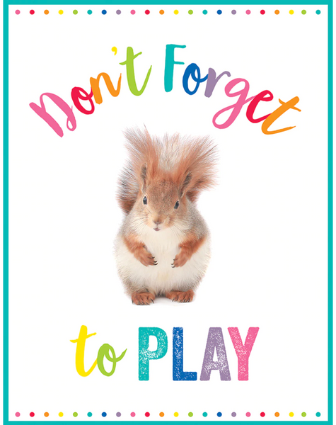 Woodland Whimsy Posters {Don't Forget to Play}
