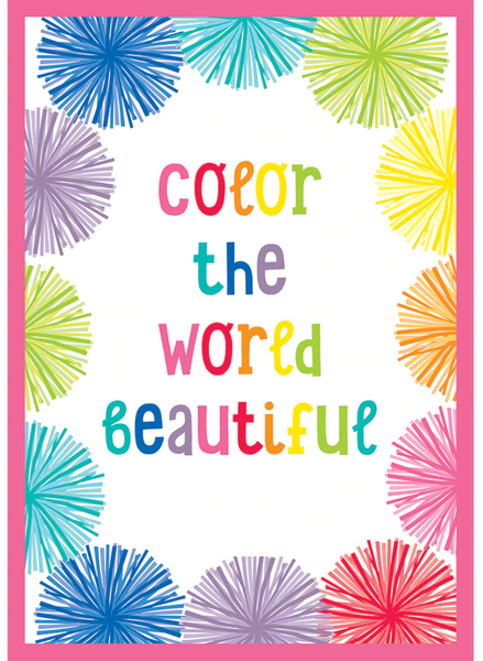 Hello Sunshine Rainbow {Color the World Beautiful Poster}