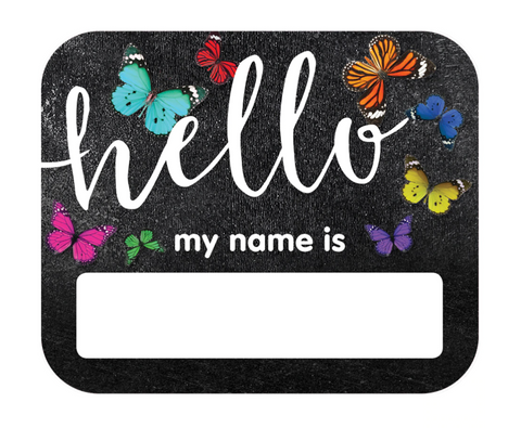 Woodland Whimsy Hello Name Tags