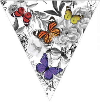 Woodland Whimsy Pennant Banner