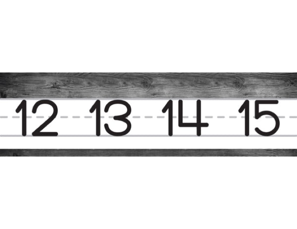 Simply Stylish Number Line