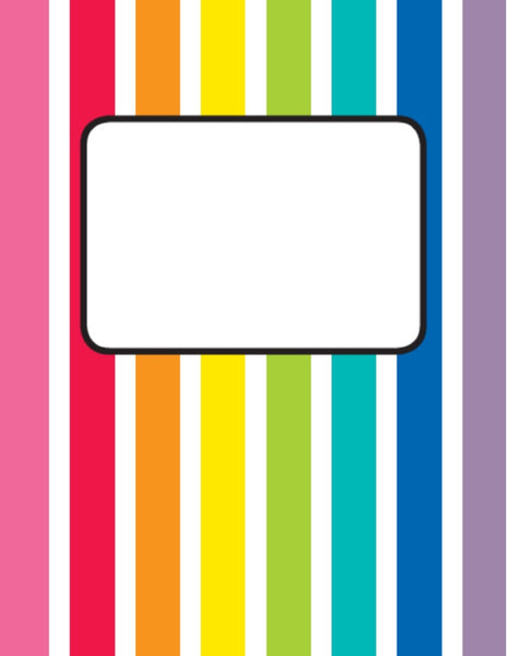 Hello Sunshine Rainbow Binder Cover {U PRINT}