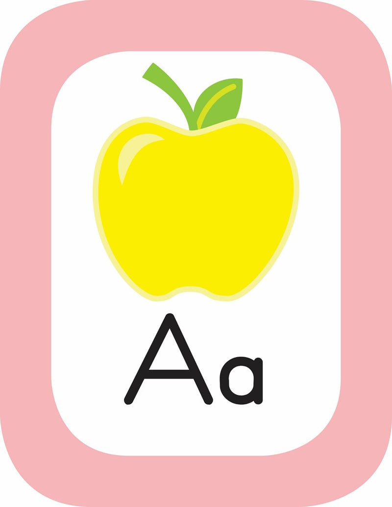 Schoolgirl Style - Just Teach Simply Stylish Tropical- Alphabet Cards with Images {U PRINT}
