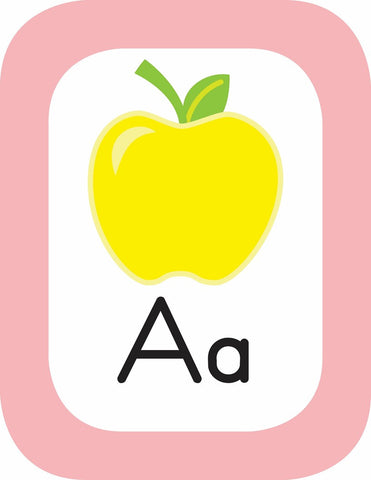 Just Teach - Alphabet Cards with Images Pina Colada Pineapple