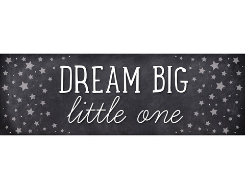 Twinkle Twinkle, You're a Star -  Dream Big Little Ones Banner {UPRINT}