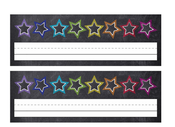 Twinkle Twinkle, You're a Star -  Stars Nameplates