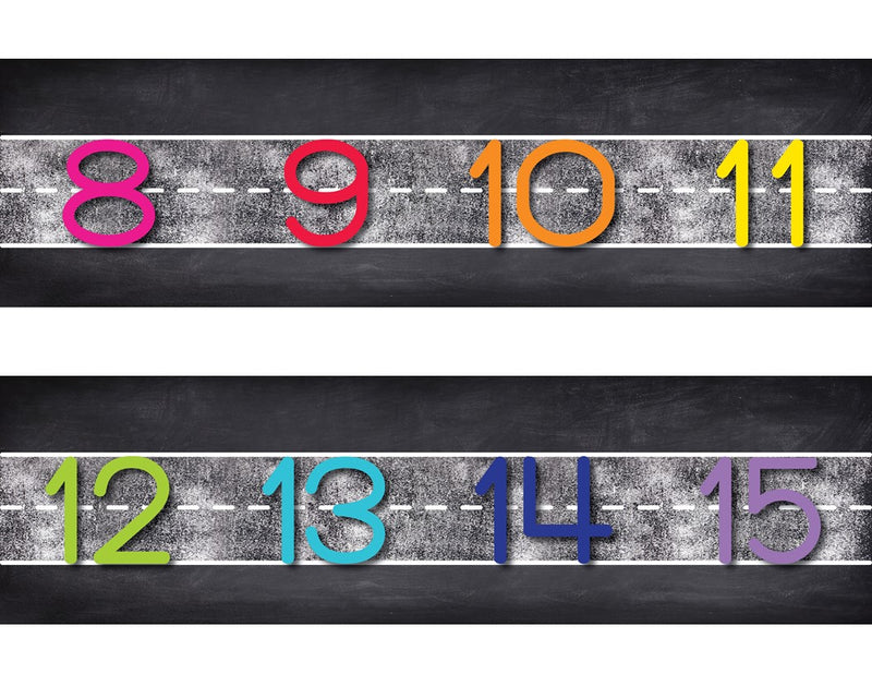 Schoolgirl Style - Twinkle Twinkle You're a Star! Number Line {UPRINT}