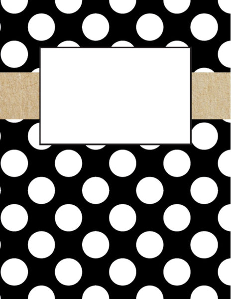 Simply Stylish Binder Covers