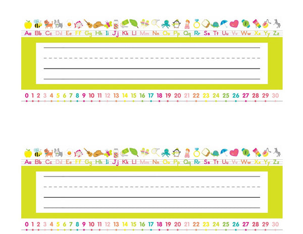 Just Teach Simply Stylish Tropical - Early Childhood Nameplates {U PRINT}