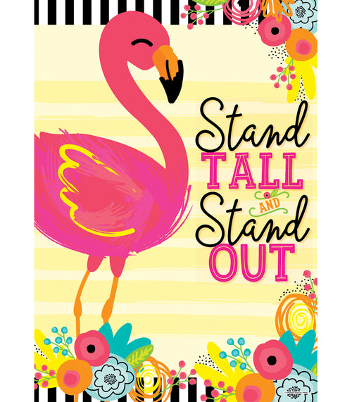 Simply Stylish Tropical 'Stand Tall' Poster