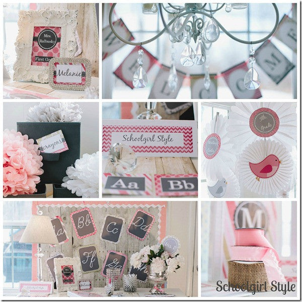 Vintage Pink Chic - Full Collection