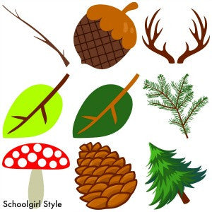 Woodland Animals Cut Outs - Nature {UPRINT}
