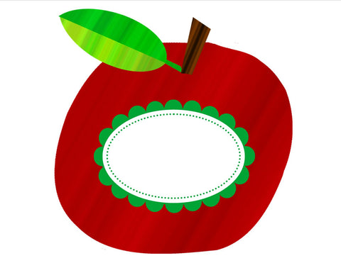 Primary Apple Cut Outs