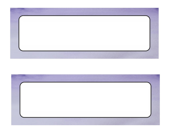 Color My Classroom - Watercolor Nameplates