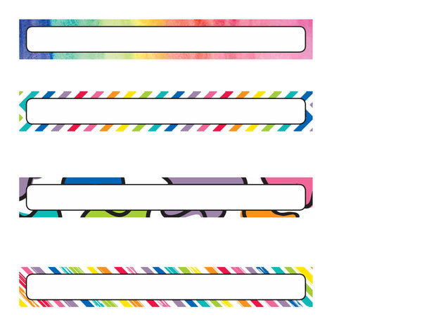 Color My Classroom - Binder Spines