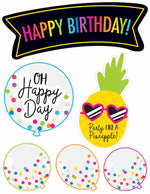 Neon Pop - Birthday Bulletin Board Set {UPRINT}