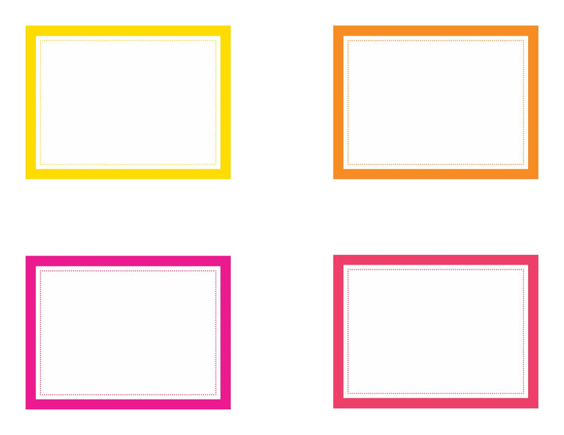 Schoolgirl Style - Just Teach NEON Classroom Library Labels {UPRINT}