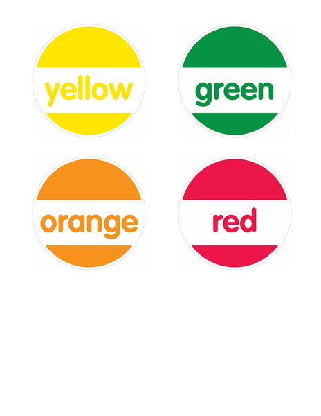 Just Teach - Round Color Labels {U PRINT}