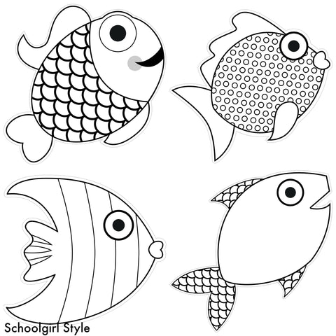 Color My Classroom Fish