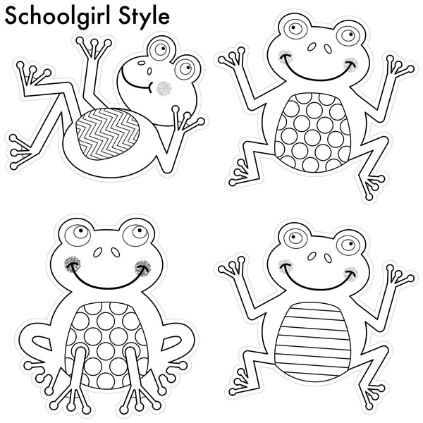 Color My Classroom Frogs {UPRINT}