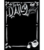 Schoolgirl Style - Industrial Cafe 'The Daily Grind' Poster